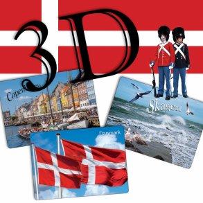 3D postkort